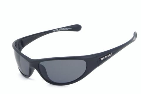 Backlash sunglasses- Matte black frame and smoke TAC polarized lens