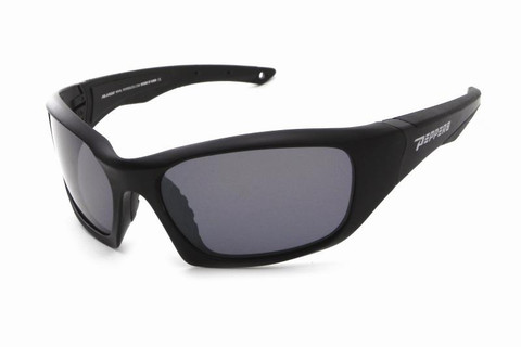 FL7362-1 Matte black frame and smoke TAC polarized lens