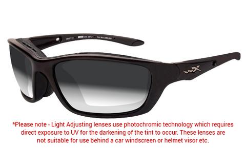 Wiley X Brick Grey Photochromic Sunglasses