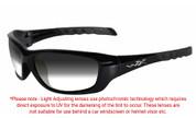 Wiley X Gravity Grey Photochromic Sunglasses