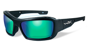 Wiley X Knife Emerald Polarized Sunglasses