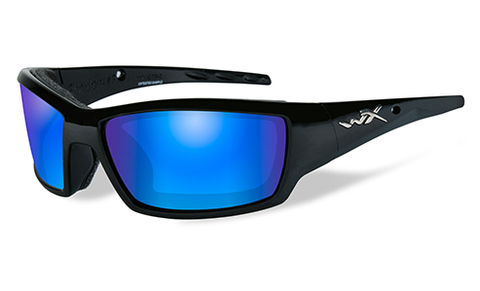 Wiley X Tide Blue Mirror Polarized Sunglasses