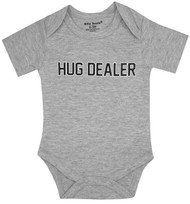 Hug Dealer Grey Boys Bodysuit