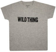 Wild Thing, grey toddler Tee
