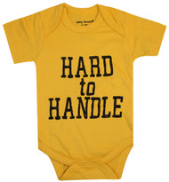 Hard to Handle, yellow bodysuit