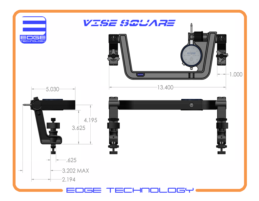 Vise Square 40-000 - Edge Technology