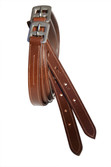 Stitched Edge Show Stirrup Leathers Adults