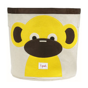 3 Sprouts Storage Bin - Monkey