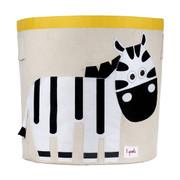3 Sprouts Storage Bin - Zebra
