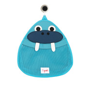 3 Sprouts Bath Storage - Blue Walrus
