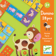 Djeco Domino Farm Game