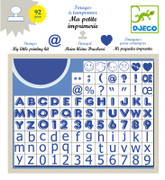 Djeco Little Print Kit Stamps