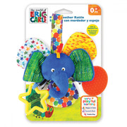 Eric Carle Mirror Teether Rattle Elephant