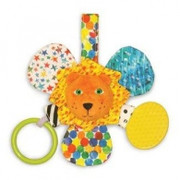 Eric Carle Mirror Teether Rattle Lion