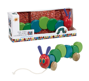 Eric Carle Very Hungry Caterpillar Wooden Pull Along