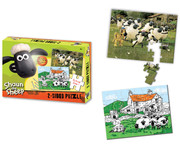 Shaun The Sheep 2-Sided Puzzles