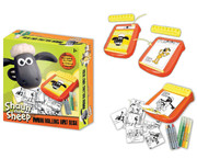 Shaun The Sheep Mini Rolling Art Desk