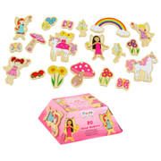 Fiesta Crafts Fairy Magnets