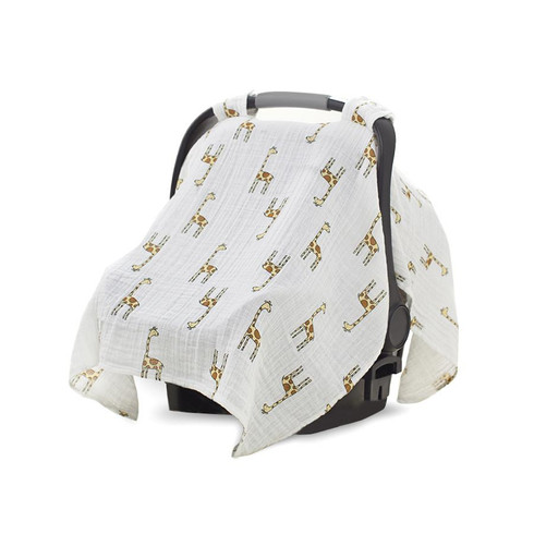 Aden + Anais Jungle Jam Giraffe Car Seat Canopy