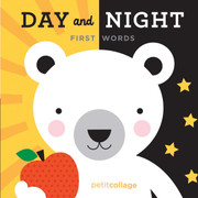Petit Collage Day and Night First Words Book