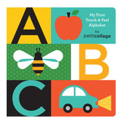 Petit Collage ABC Touch & Feel Alphabet Book