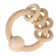 Heimess Rattle 4 Rings Natural