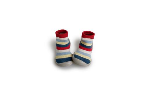 Collegien Slipper Socks - Stripes