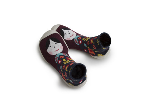 Collegien Slipper Socks - Matrioschka