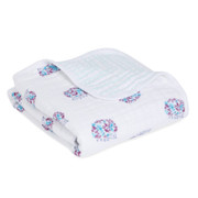 Aden + Anais Classic Stroller Blanket  Thistle