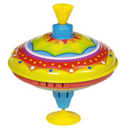 GOKI Yellow Spinning Top