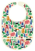 Petit Jour PVC Coated Cotton Bib Jungle