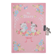 Tiger Tribe Lockable Diary - Kittens & Puppies