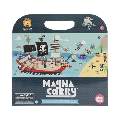 Tiger Tribe Magna Carry - Pirate Adventure
