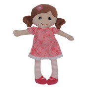 Tiger Tribe Baby Rag Doll - Emily (Pink)