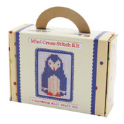 Buttonbag Mini Penguin Cross Stitch