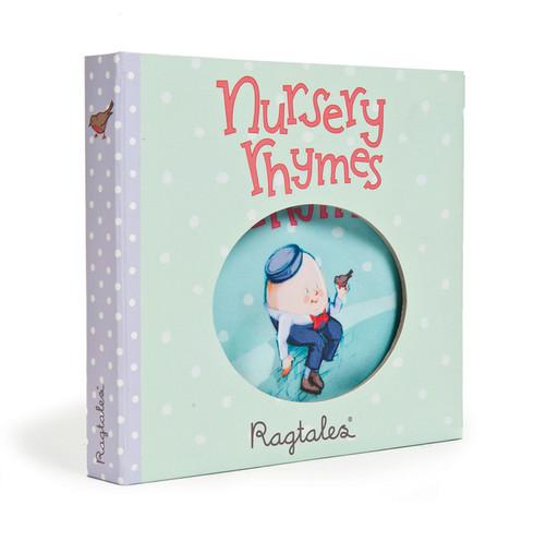 Ragtales Rag Fabric Book Nursery Rhymes