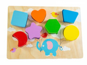 Kiddie Connect Flying Balloon Chunky Shape Puzzle