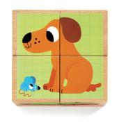 Djeco Wouaf & Co Block Puzzle
