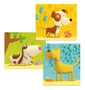 Djeco Dogs First Progressive Puzzle