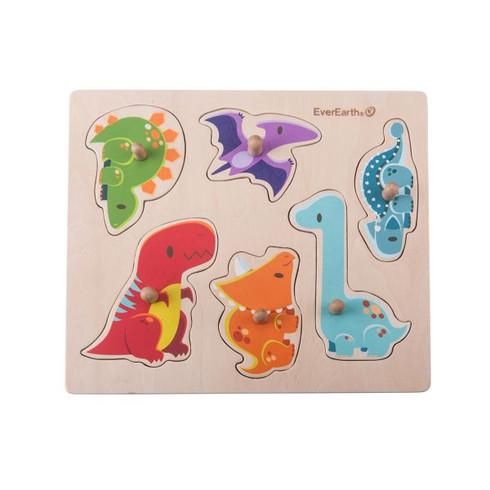 EverEarth Dinosaur Peg Puzzle