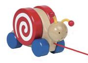 Goki Pull Along Snail
