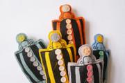 Corby Tindersticks Rainbow Robots