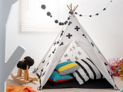 Black Cross Teepee