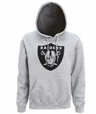 Oakland Raiders Hoodie Grey