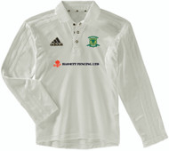 Overstone Park Cricket Club Long Sleeve Cream Shirt