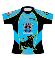 Stunts 7's Sublimated Jersey - Blue