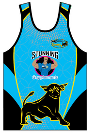 Stunts 7's Sublimated Vest - Blue