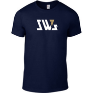 SW7 Large Graphic Logo Navy T-shirt
