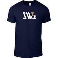 SW7 Large Graphic Logo Navy T-shirt