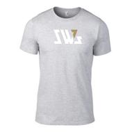 SW7 Large Graphic Logo Grey T-shirt